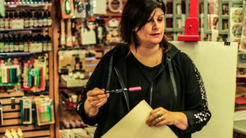 Workshop di Calligrafia con Rossella Manganelli: un successo!!!
