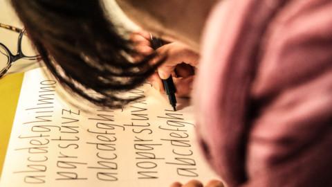 Workshop livello base di calligrafia con Tombow Dual Brush