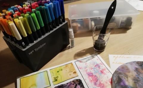 Imparare a colorare con i Dual Brush